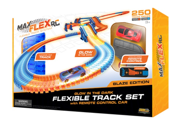 Hot toy trends from New York Toy Fair 2018: Race car sets with a twist, like the Max Flex RC set (sponsor)