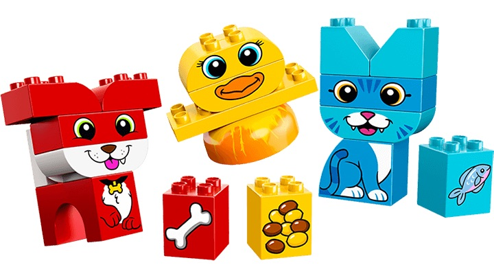 Hoy toy trends from New York Toy Fair 2018: LEGO DUPLO My First Puzzle Pets help teach empathy and kindness to toddlers (sponsor