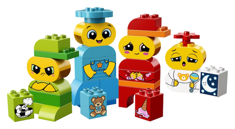 Hot toy trends from New York Toy Fair 2018: LEGO DUPLO My First Emotion Set (sponsor)