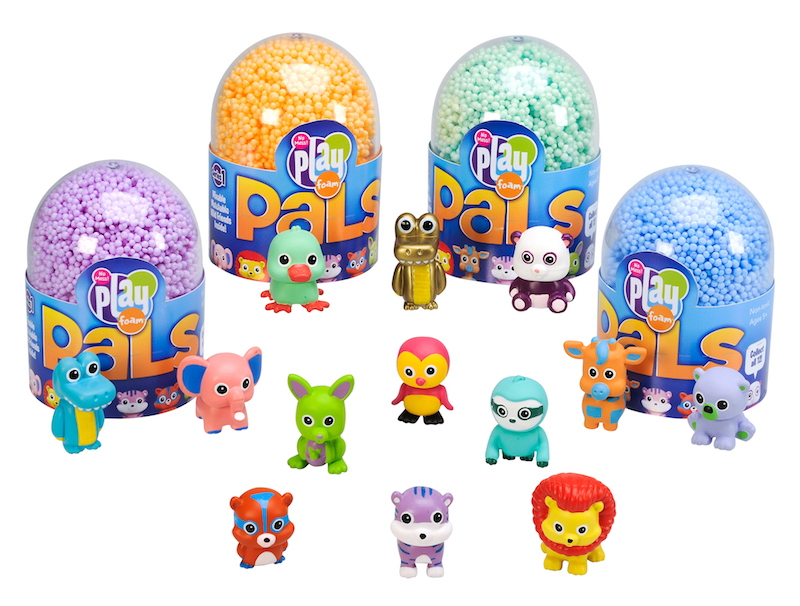 Hot toy trends from New York Toy Fair 2018: Mini Collectibles like Playfoam Pals (sponsor)