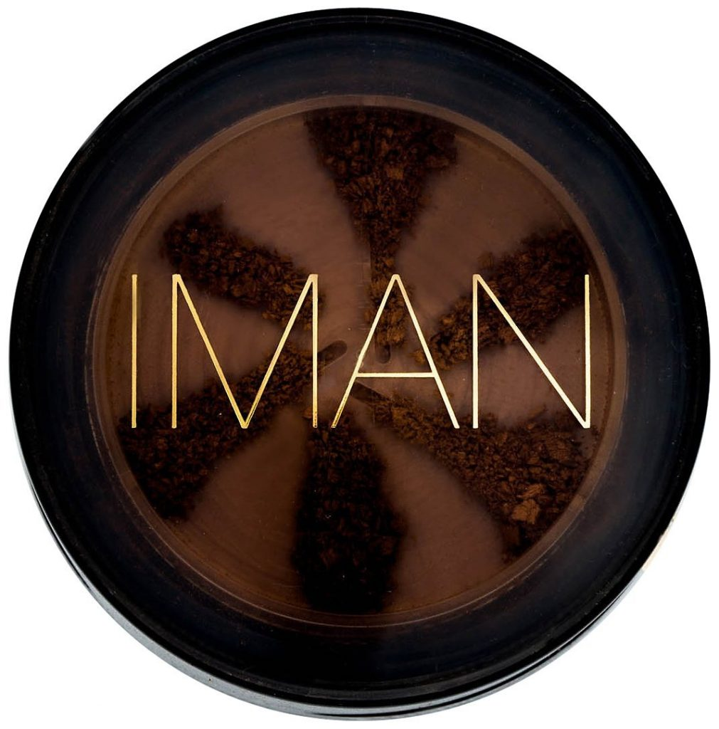 Favorite POC-owned beauty brands: Iman's Second to None Loose Powder in shades from light to dark | Cool Mom Picks