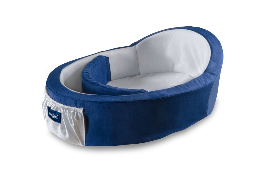 Mumbelli baby bed: Designed to help keep napping infants, napping!