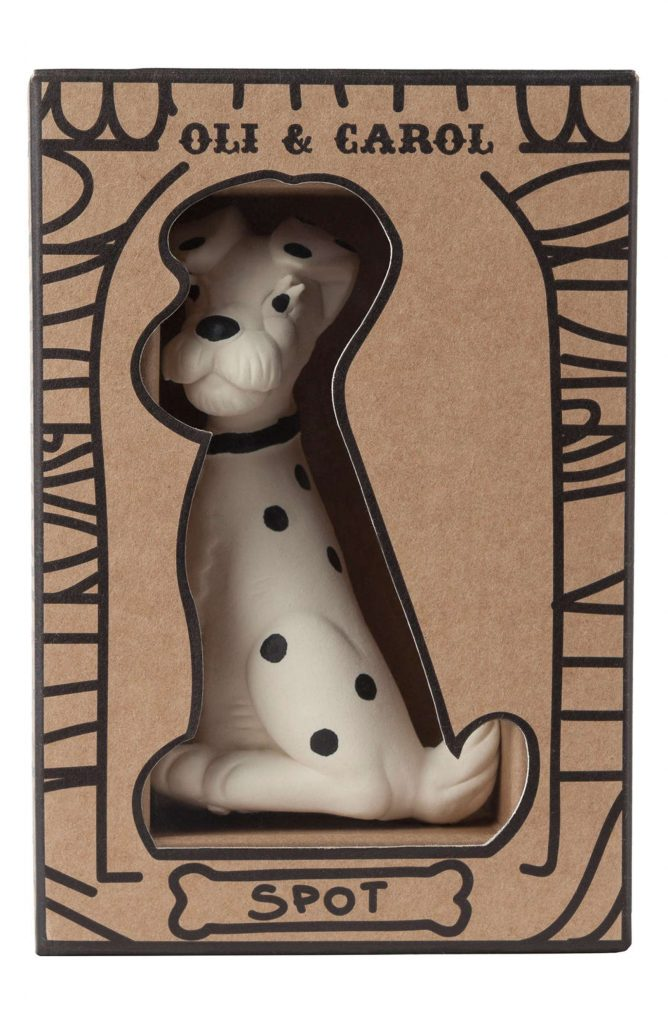 Year of the Dog baby gifts: Oli and Carol spot the dog vintage dalmation teething toy