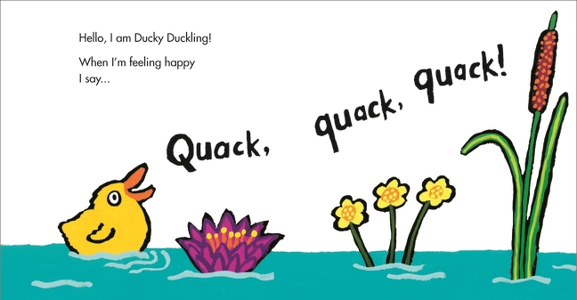 Splish, Splash, Ducky is the newest book from Lucy Cousins | Sponsor