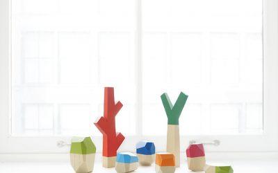 We're crushing hard on these nature-inspired handmade blocks.
