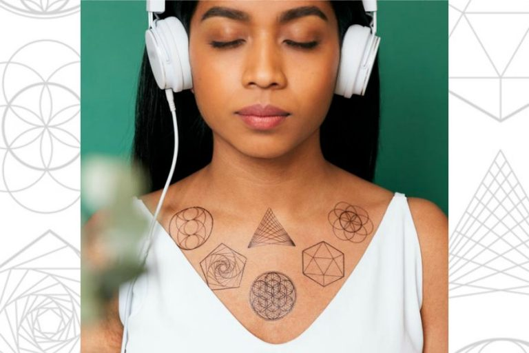 How these new temporary tattoos can be part of a self-care routine. For real.