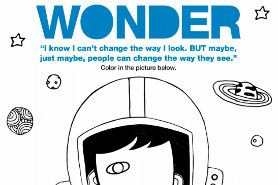 Download these free printable Wonder activity sheets and help choose kind