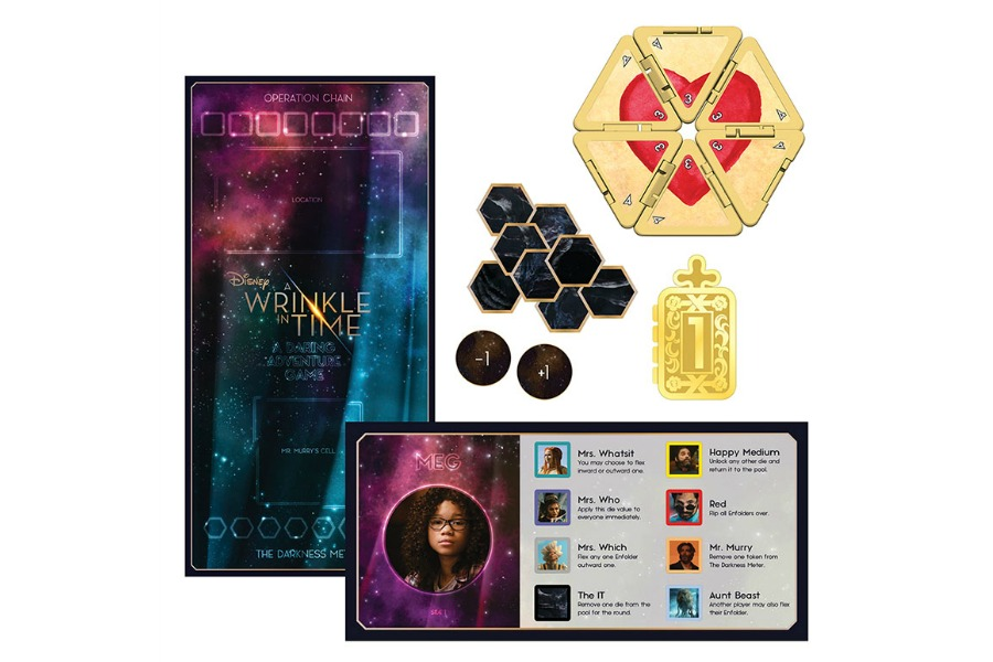 Where to find the stunning new A Wrinkle in Time board game. Wow.