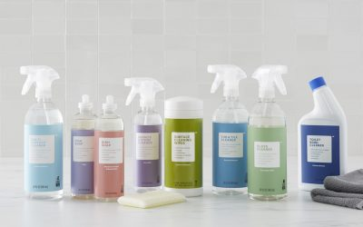 This collection of pretty-smelling, non-toxic cleaning products gets your entire house clean for just $24. Total.