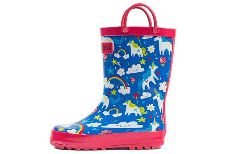 12 crazy-cool patterned rain boots for toddlers, all under $30. Including the new Hunter for Target boots!