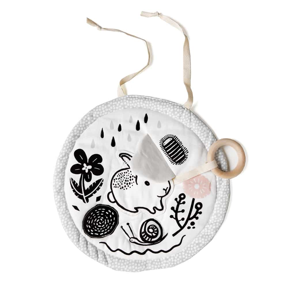 First Easter gifts for babies: Easter meadow activity pad   Wee Gallery
