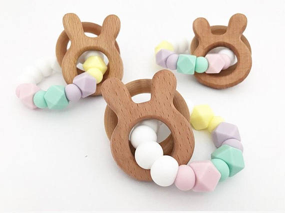 11 bunny gifts that make the perfect first easter gifts for babies first easter gifts for babies easter bunny teether loved by teething negle Image collections