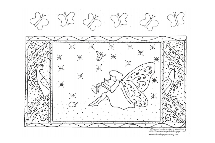A fresh bouquet of free printable spring coloring pages from a favorite children's book illustrator