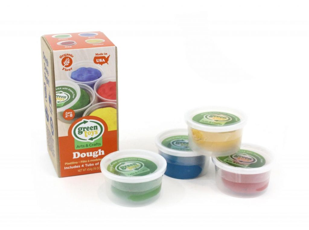 Non-candy Easter basket ideas: Green Toys organic dough sets