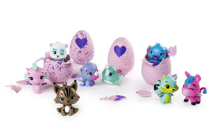 Hatchimals CollEGGtibles help make Easter egg hunts more fun and less messy! | sponsor