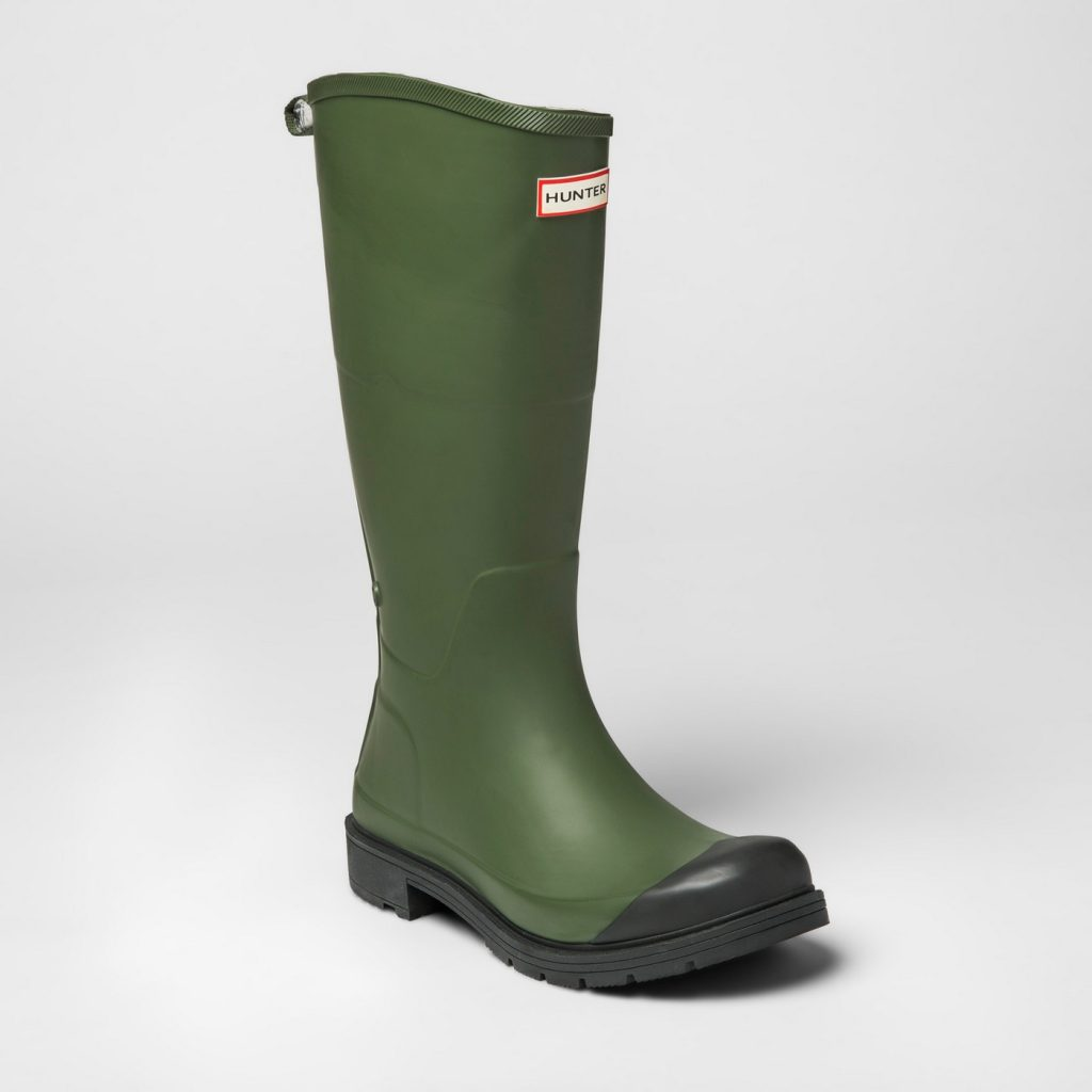 Hunter for target rain boots for men and women, just $40!