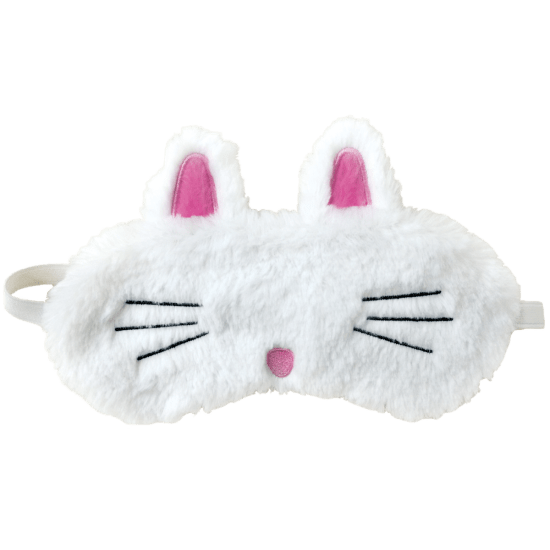 Non-candy Easter basket ideas: Fuzzy bunny sleep mask from iScream