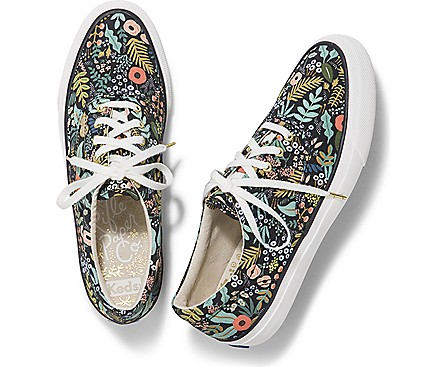 Keds x Rifle Paper Co floral sneakers are perfect for spring!