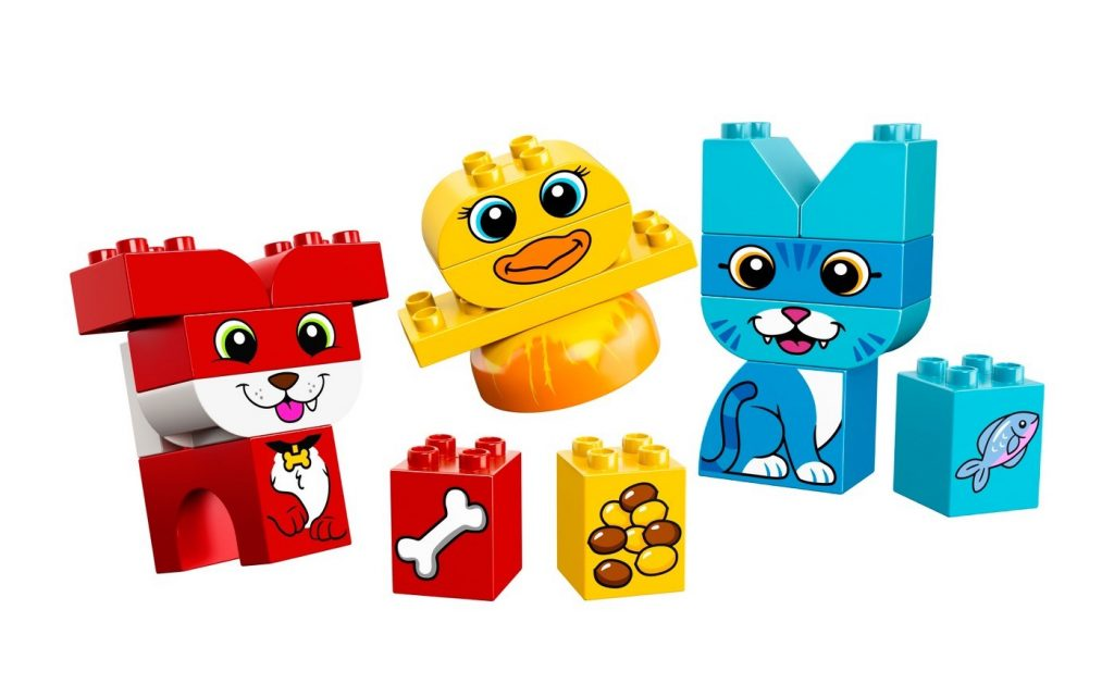Non-candy Easter basket ideas: Non-candy Easter basket gift ideas: Duplo my first animals building set