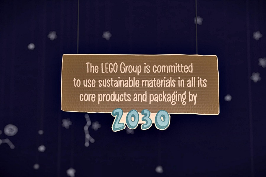 LEGO commits to sustainability with new plastics derived from sugarcane