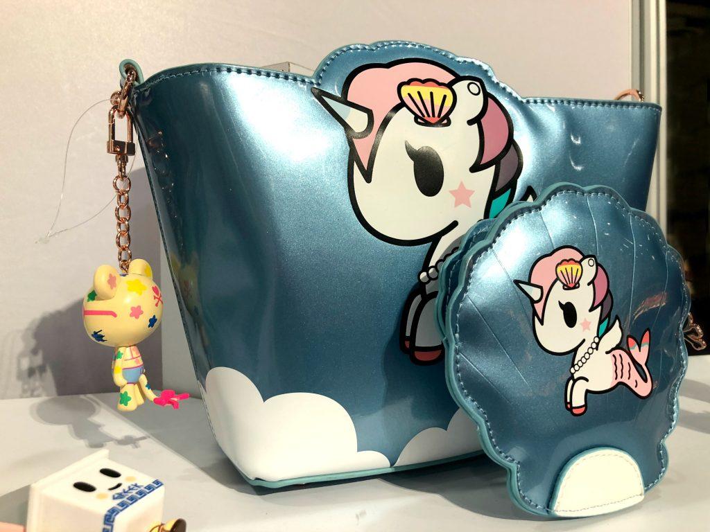 New Tokidoki Mermicorno handbag and accessories seen at Toy Fair 2018 | Cool Mom Picks