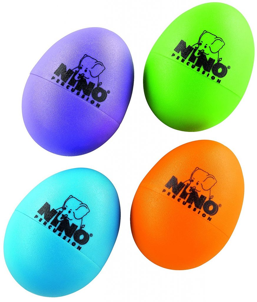 Non-candy Easter basket ideas: Nino mutli-colored egg shakers