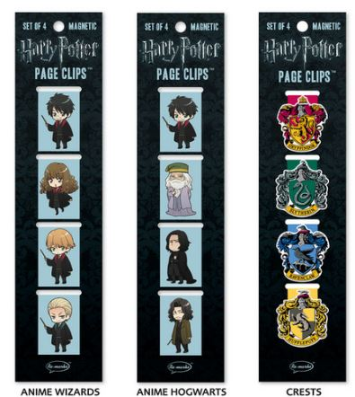 Re-marks harry potter collection anime inspired page clips