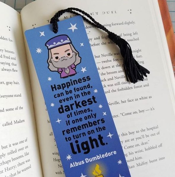 Re-Marks Harry Potter collection Quotemarks bookmarks
