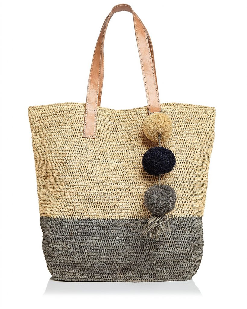 Spring fashion trends: Straw Montauk Tote from mar Y sol | Cool Mom Picks