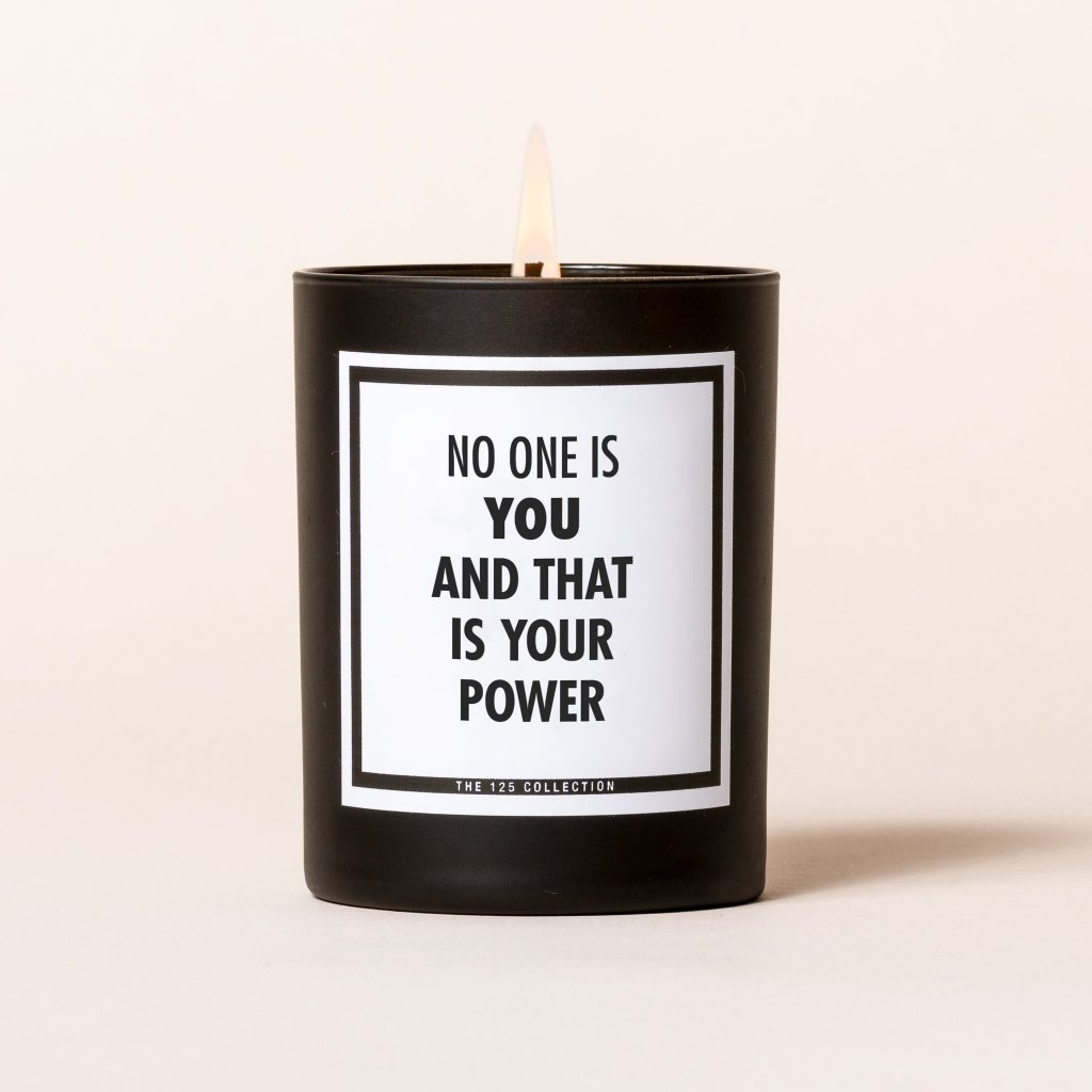 Inspirational candles from 125 Collection: Mother's Day gift ideas for stepmothers and mothers-in-law