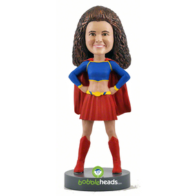 Personalized Mother's Day gifts: Custom superhero bobblehead | Custom Bobbleheads