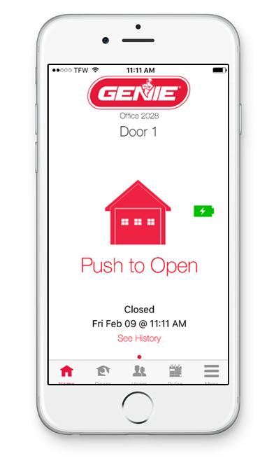Control your Genie Company SilentMax Connect garage door opener with an app | Sponsor