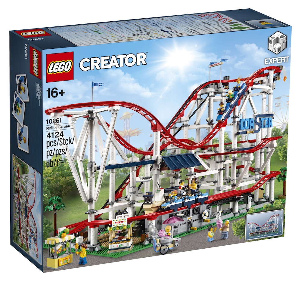 the new LEGO Creator expert builder roller coaster is one amazing gift for LEGO fans