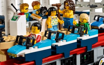 A look at the new LEGO Creator Expert Roller Coaster set. Just…wow.