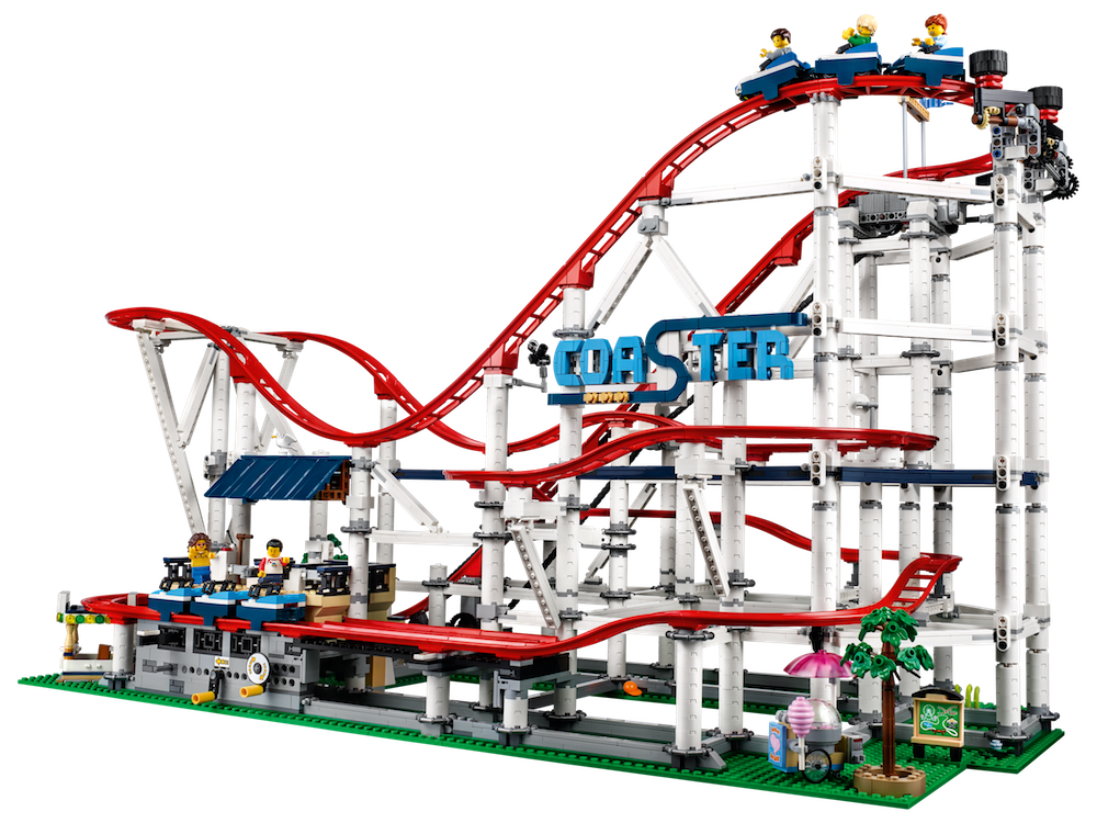 A Look At The New Lego Creator Expert Roller Coaster Set