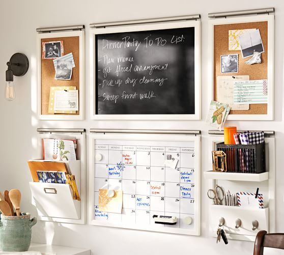 Pottery Barn Daily System is a smart organizational tool for parents
