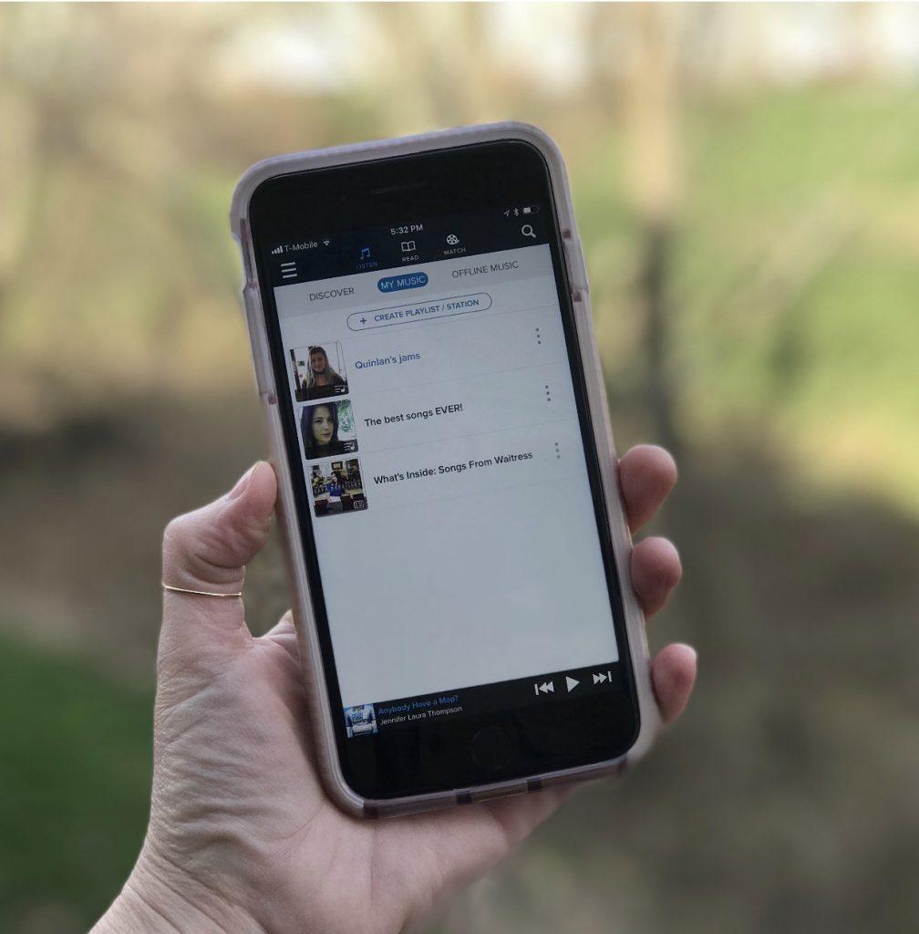 The WEYV app | Sponsor