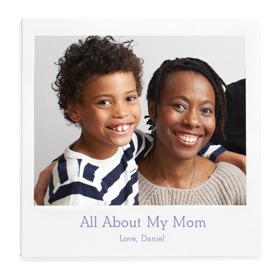 Personalized Mother's Day gifts: Personalized All About Mom Book | Pinhole Press