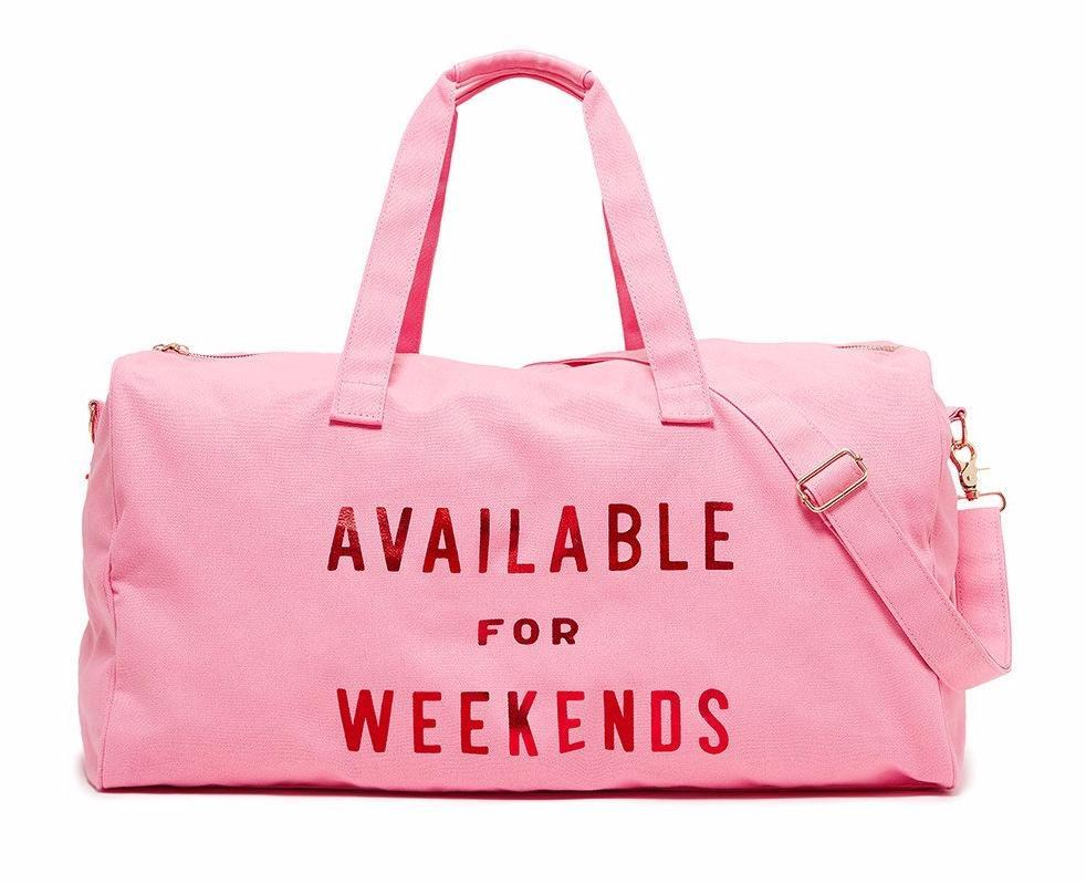 Cool Mother's Day gifts for grandmas: Available for weekends duffel bag from Bando, plus time to spend with the grandkids
