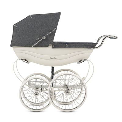 The Balmoral 140th limited edition Silver Cross pram. Fit for a royal baby! Or yours?