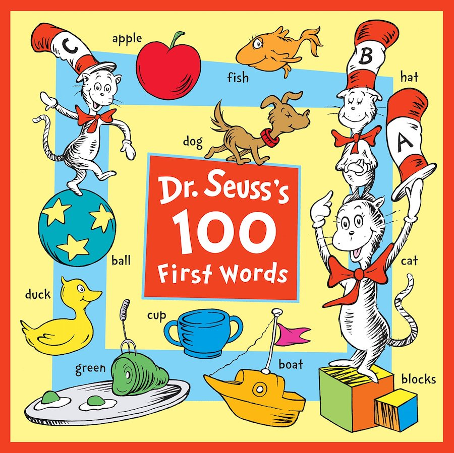 Cool first-words books: Dr. Seuss's 100 First Words
