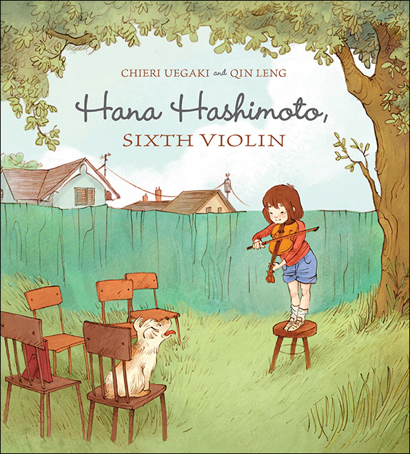 Books about Asian and Pacific Island Heritage month: Hana Hashimoto, Sixth Violin