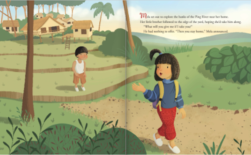 Books for Asian and Pacific Island heritage month: Mela and the Elephant