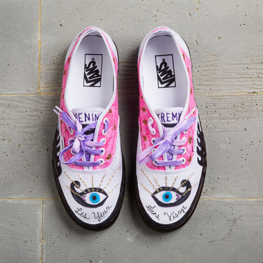 Celeb-designed Vans for Custom Culture offer crafting inspiration galore c9cfff070455