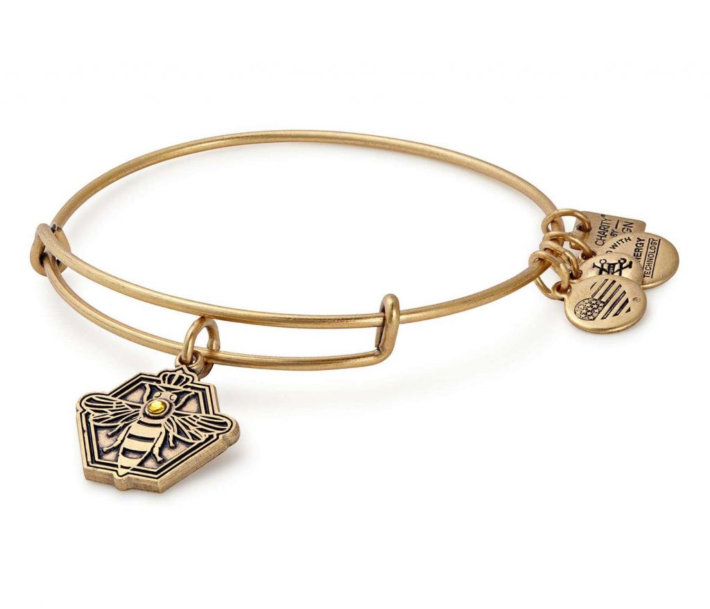 Alex & Ani Charity By Design Queen Bee bracelet supports Habitat for Humanity | Mother's Day gifts that give back | Cool Mom Picks