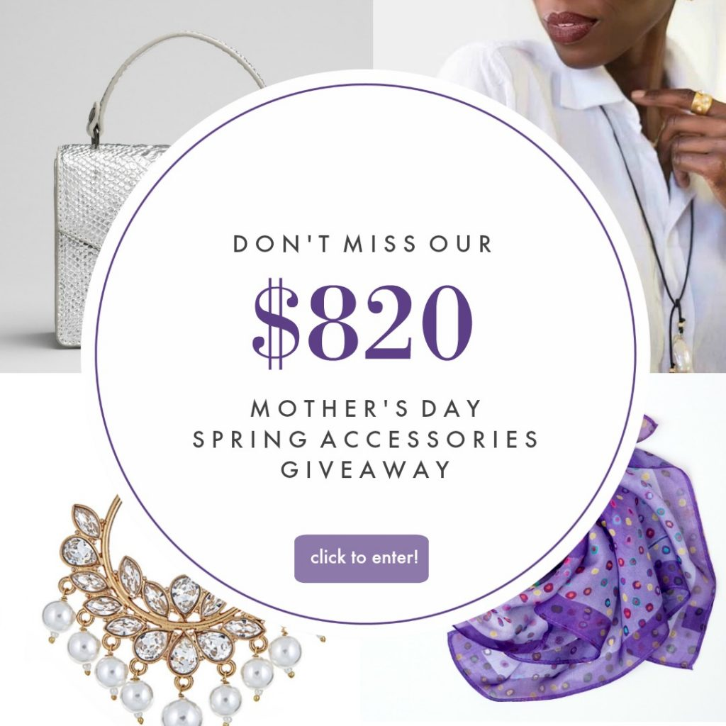 Spring accessories giveaway for Mother's Day | Cool Mom Picks + the Accessories Council