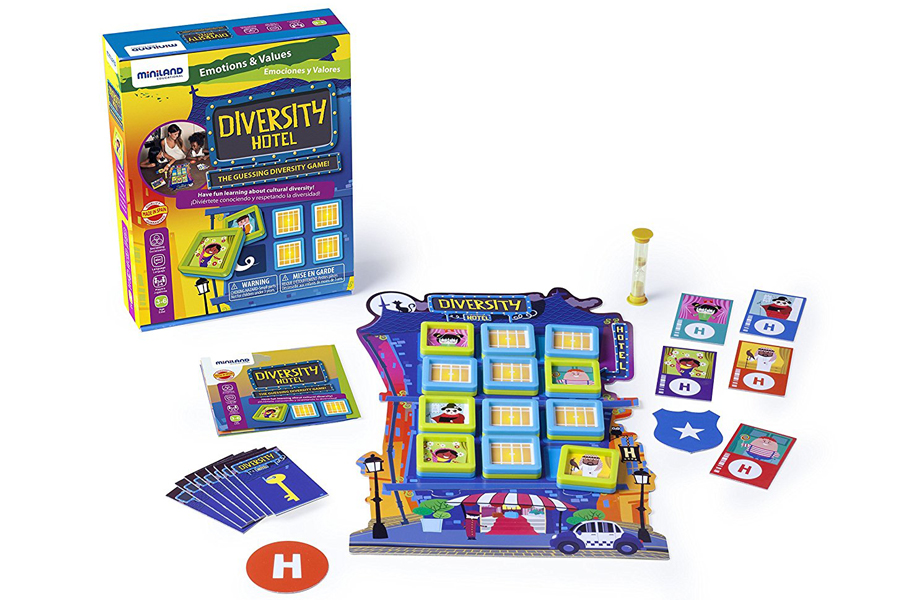 The Diversity Hotel board game is a fun way to help teach kids about social justice, diversity, and respect