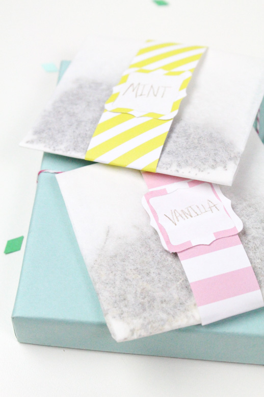 DIY Mother's Day gifts that kids can make: DIY Bath Sachets by Sugar and Cloth