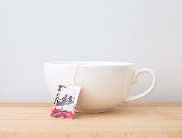 DIY Mother's Day gifts that kids can make: Photo Tea Bags by Phototojojo