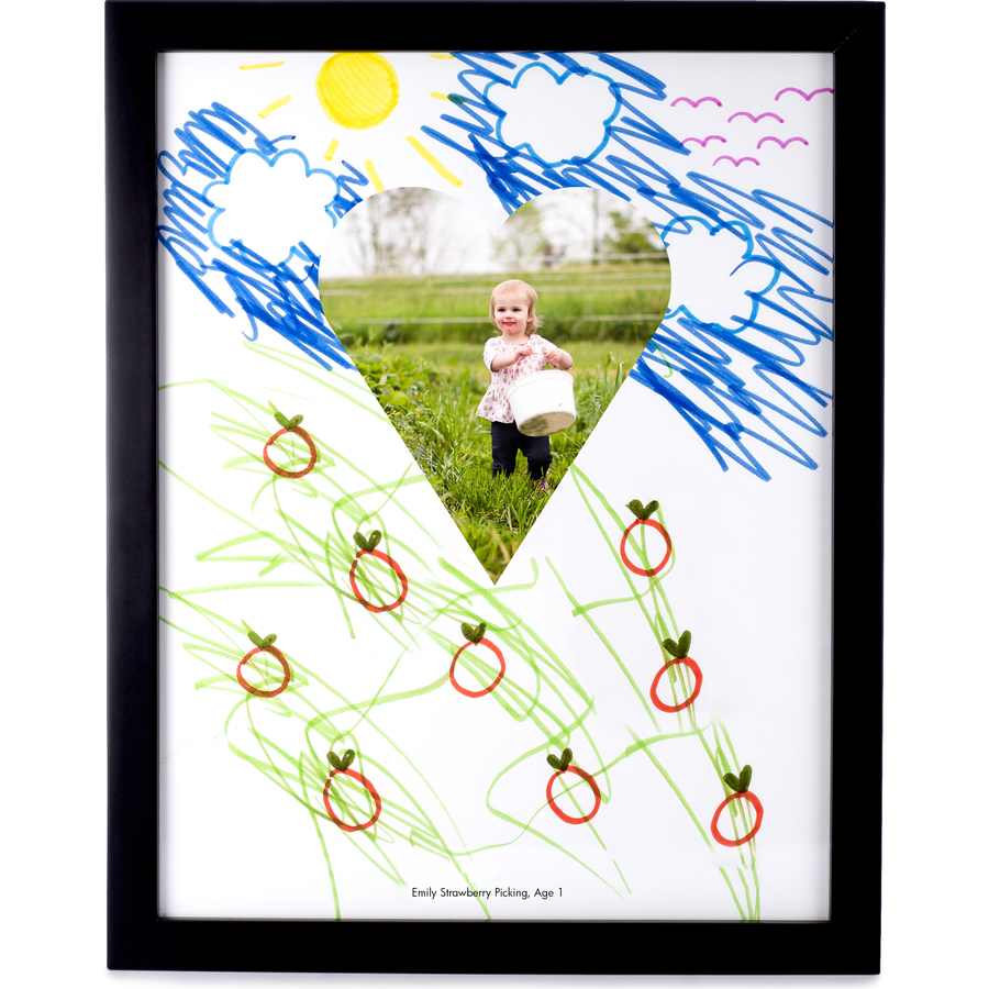 DIY Mother's Day gifts that kids can make: Story Starter Poster Frame by Pinhole Press